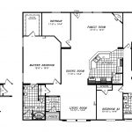 Manufactured Home Floor Plan Clayton Triple Wide Updated