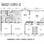 Manufactured Home Floor Plan Oakwood Plt