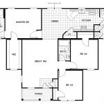 Manufactured Home Floor Plan Schult Redwood House