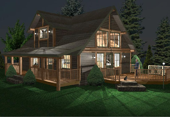 Manufactured Log Homes Washington State Images Frompo