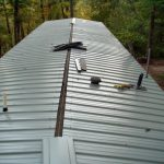 Metal Roof How Put Mobile Home