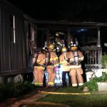Minor Injuries Mobile Home Fire