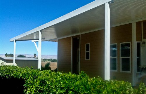 Mobile Home Awning Screen