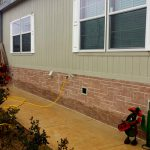 Mobile Home Brick Stone Homes Ideas