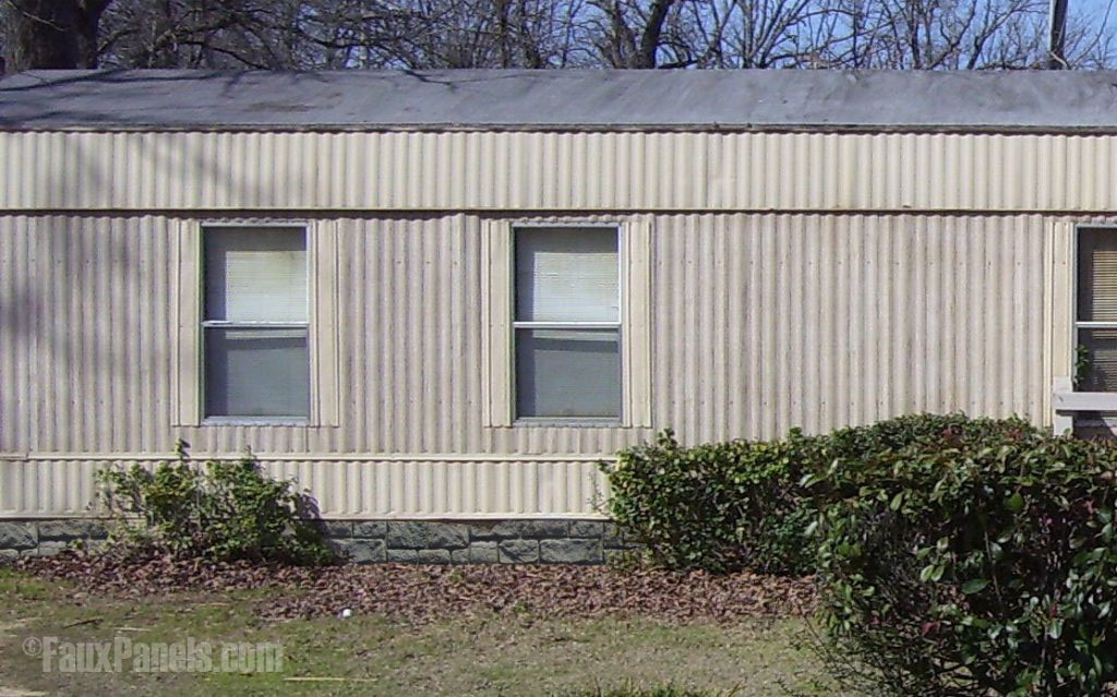 Mobile Home Designs Renovation Faux Skirting