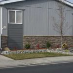 Mobile Home Faux Stone Skirting