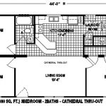 Mobile Home Floor Plan Very Affordable Design This