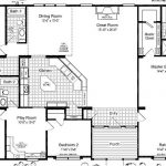 Mobile Home Floor Plans And Triple Wide Homes