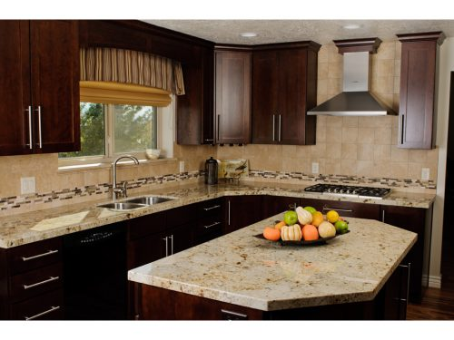 Mobile Home Kitchen Remodel Fron Wood Images