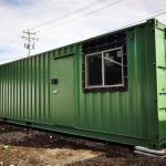 Mobile Home Office Shipping Container Homes Pinterest