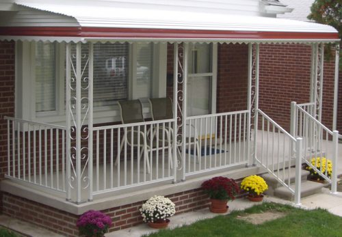 Mobile Home Porches Decks Ideas