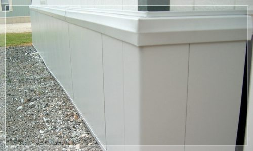 Mobile Home Skirting Deck Eps Foam Insulation