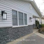 Mobile Home Skirting The Blog Cheap Faux Stone Panels