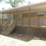 Mobile Home Steps And Decks Serve Simple House Ornamentation