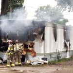 Mobile Home Sweet Avenue Was Destroyed Fire Tuesday
