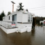 Mobile Home That For Sale Sits Pool Water After