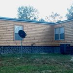 Mobile Home Turned Into Log Cabin Our Pine Siding And