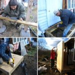 Mobile Home Woodstove Project