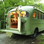 Mobile Homes Converted Bus Renovated Home