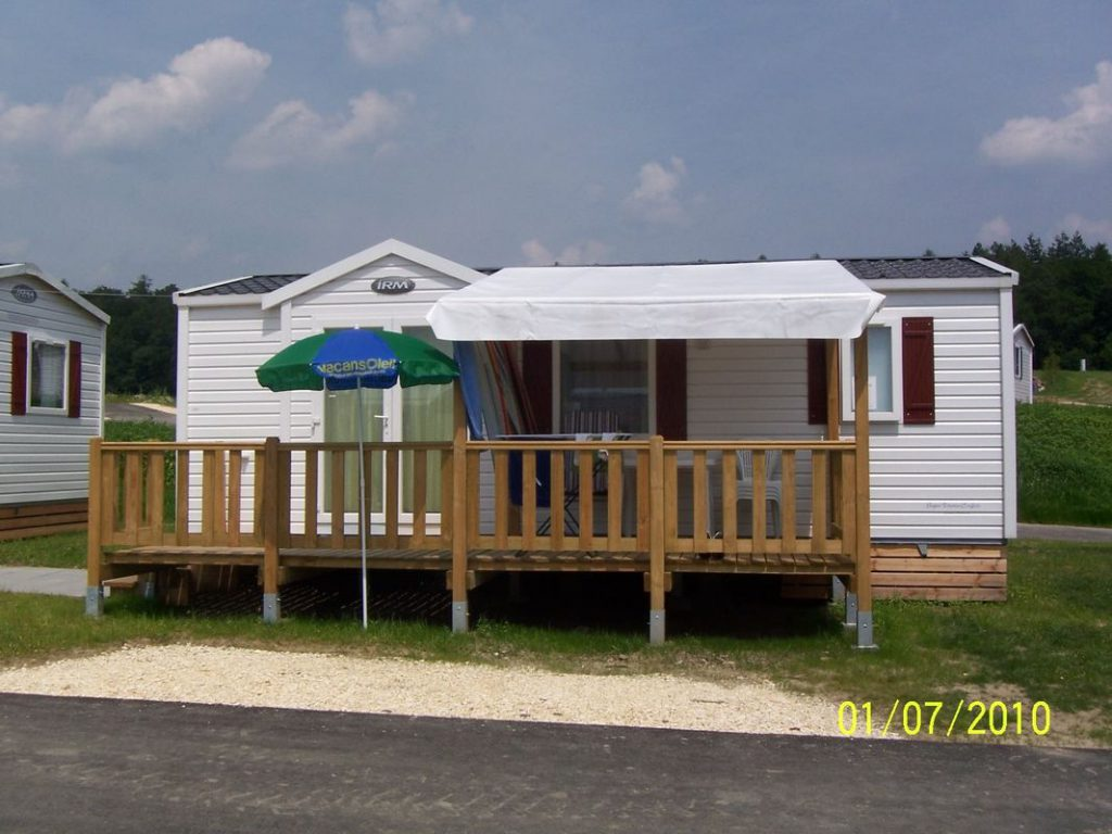 Mobile Homes Prefabricated House White Modular Small Vacation