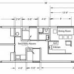 Mobile Residence Floor Plans According Home Sizes