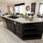 Modern Manufactured Home Triple Housing Kitchen