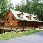 Modular Cabin Split Log Siding Nationwide Homes Custom