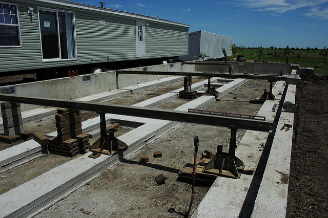 Modular Home Homes Foundations