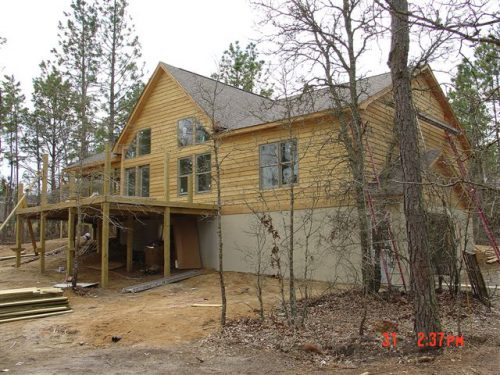 Modular Home Log Siding Homes