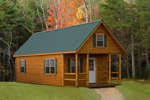 Modular Log Mobile Homes Cabin Kits Home Amish