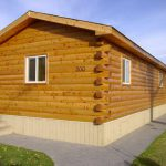 Modulog Solid Cedar Log Siding Click Gallery Homes