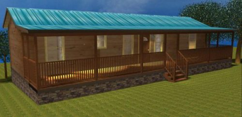 More Than Custom Modular Log Cabin Floor Plans Available