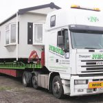 Moves Mobile Homes Manufactured Transporting View