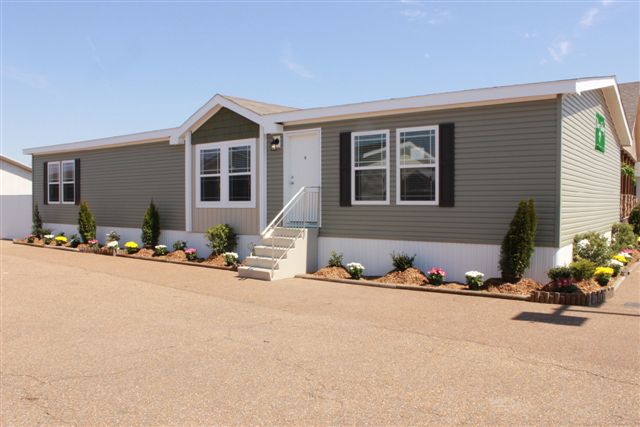 Multi Section Sanders Manufactured Housing