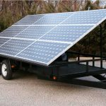 Multiprocess Systems Solar Powered Mobile Power Unit