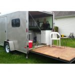 Off Grid Converted From Cargo Trailer