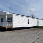 Optional Foot Covered Porch And Lite Steel Rear Door