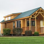 Pacific Lodge Park Model Log Home Tiny House For Ustiny