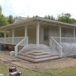 Painting The Rear Porch