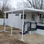 Pan Patio Cover Installed Mobile Home Sorry Fuzzy
