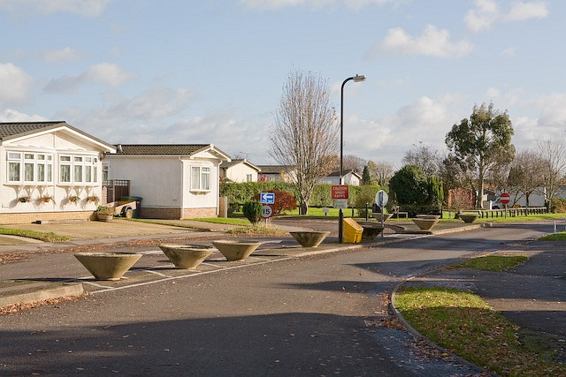 Park Mobile Homes Peter Facey Geograph Britain And Ireland