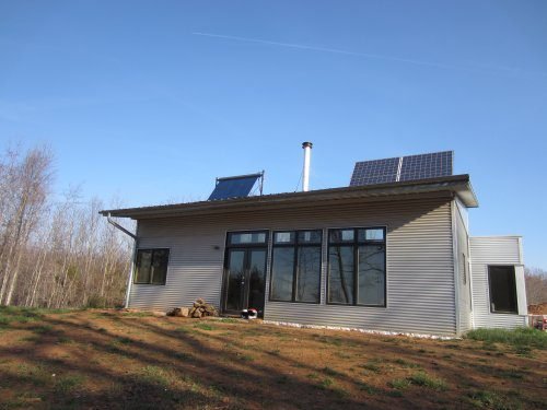 Passive Solar Off Grid Prefab House Peeps Spring Traveled Home