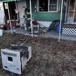 Pellet Stove Fire Damages Mobile Home North Attleboro The Sun