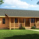 Pin Log Cabin Look Mobile Home Pinterest
