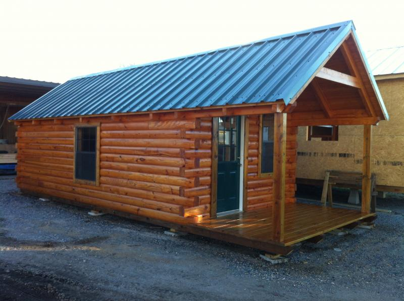 Portable Log Cabins Built Your Site Now Available