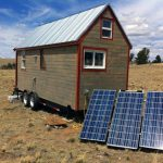 Powering Our Tiny House Off The Grid Solman Portable Solar Gener