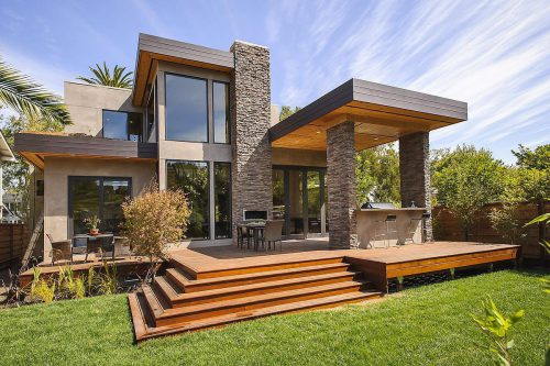 Prefab Home Sustainable Post And Beam Chic Modern
