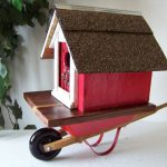 Redneck Bird House Mobile Home Backwater Studiofun Funky