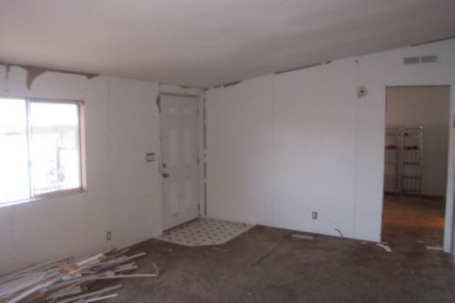 Remodeling Mobile Home Walls Diy Pinterest