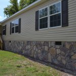 Residential Stone Siding Mobile Home Underpinning Commercial